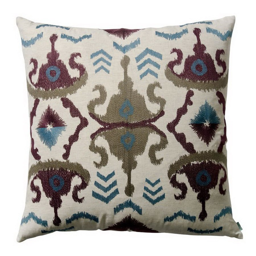 KOKO Company 26-in W x 26-in L Multicolored Square Decorative Pillow