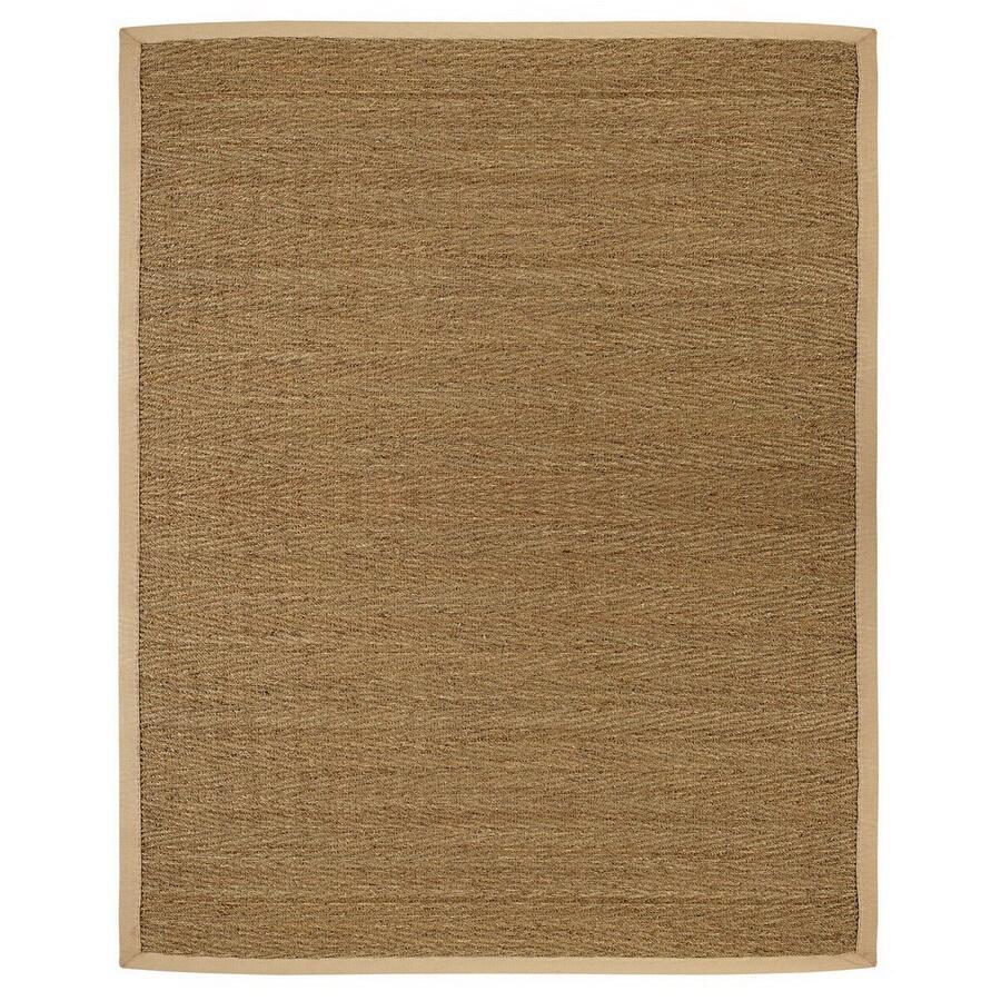Anji Mountain Saddleback Rectangular Indoor Woven Oriental Area Rug (Common: 9 x 12; Actual: 108-in W x 144-in L)