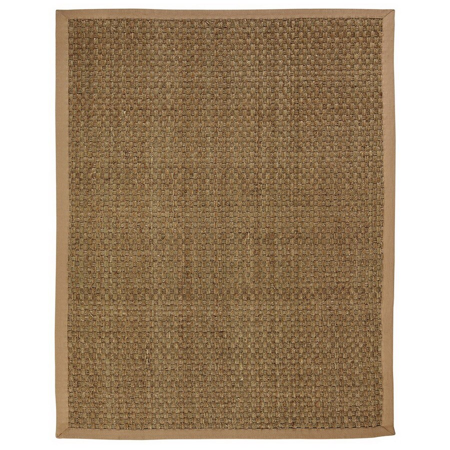 Anji Mountain Moray Rectangular Indoor Woven Oriental Area Rug (Common: 10 x 14; Actual: 120-in W x 168-in L)