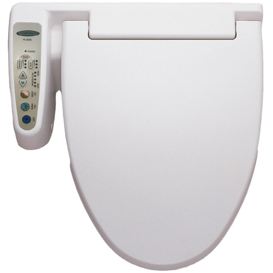 Shop HomeTECH White Toilet Mounted Bidet At