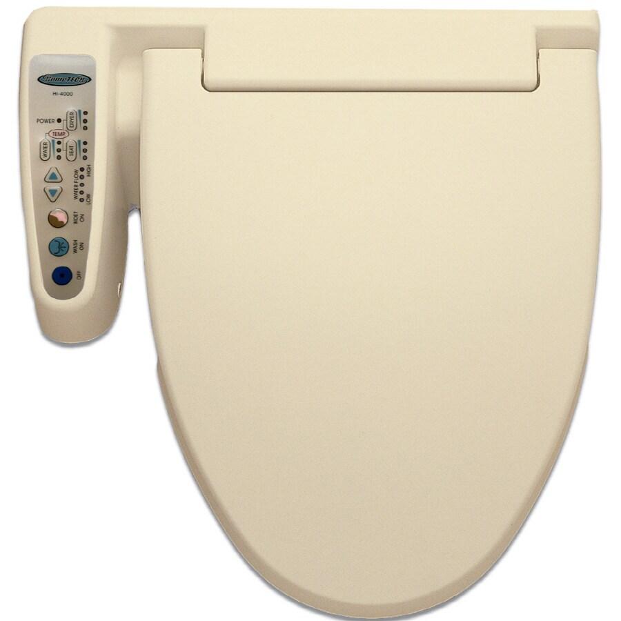 HomeTECH Biscuit Toilet-Mounted Bidet