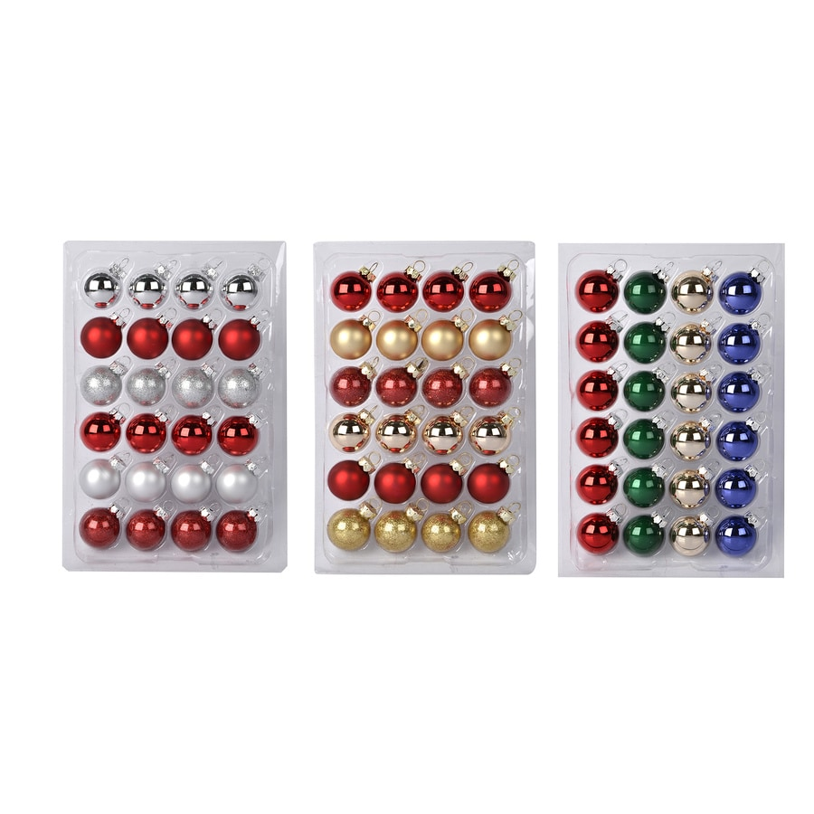 Holiday Living Multicolor Ornament Set Lights
