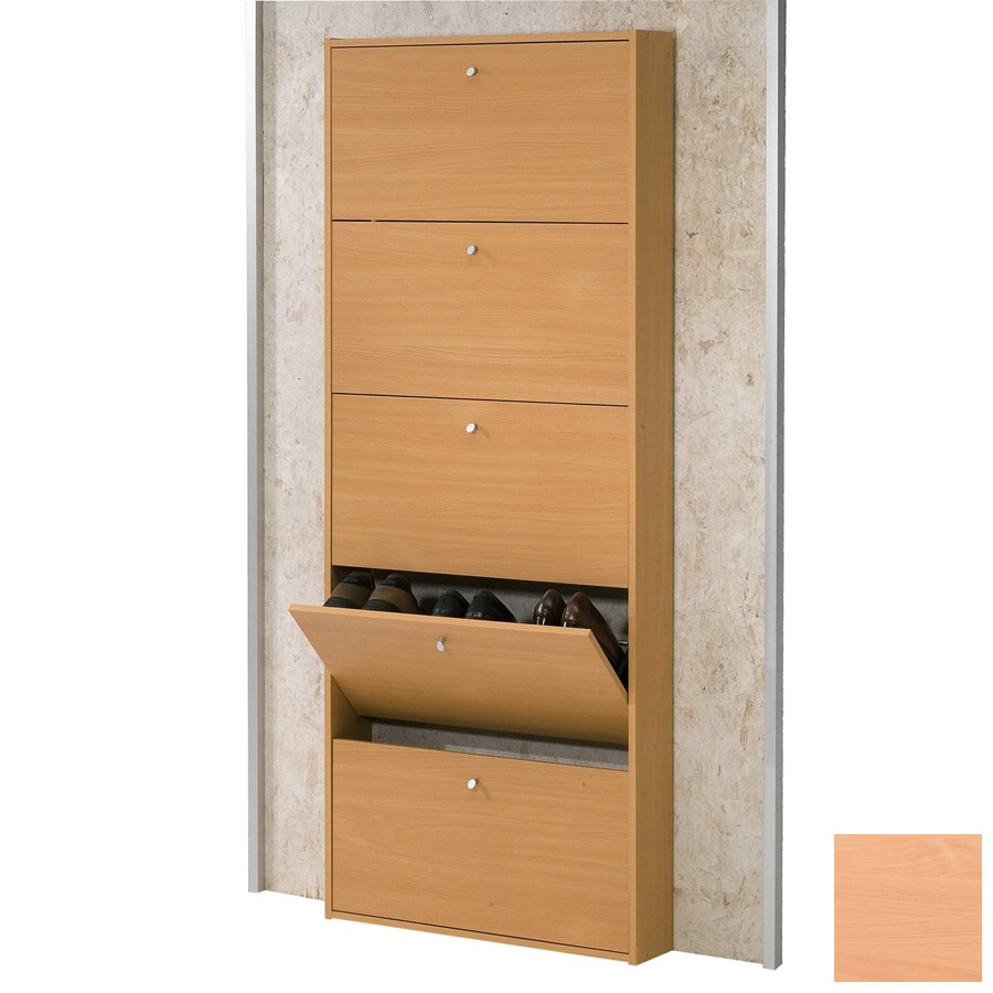 Tvilum Beech Wood Shoe Storage