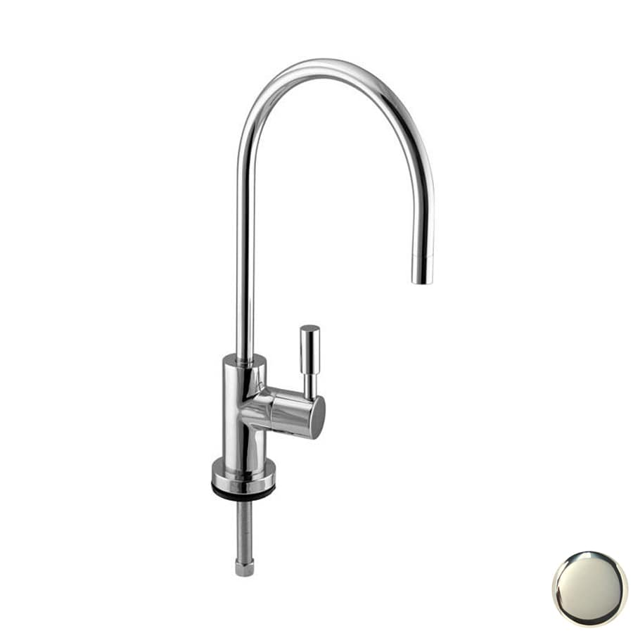 Westbrass Polished Nickel Cold Water Dispenser with High Arc Spout