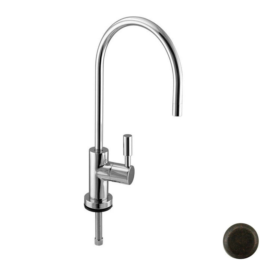 Westbrass Tumbled Bronze Cold Water Dispenser with High Arc Spout