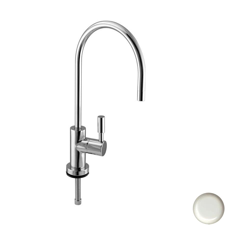Westbrass White Cold Water Dispenser with High Arc Spout