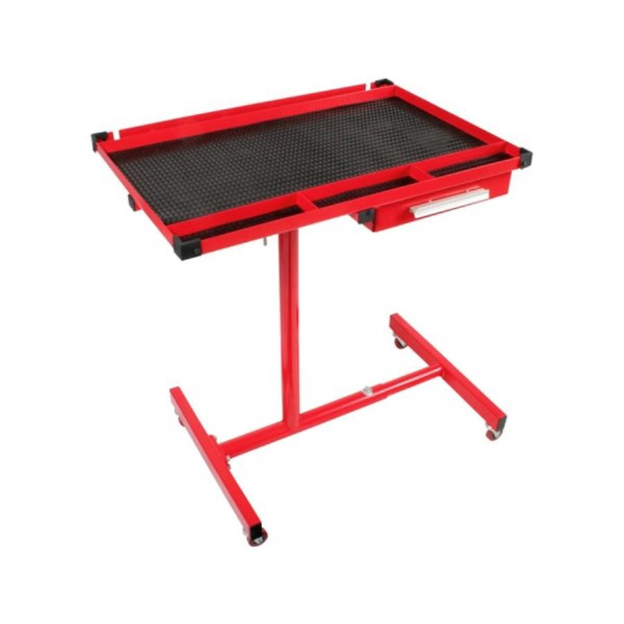 Sunex Tools 29-in W x 34-in H 1-Drawer Adjustable Rubber Work Bench