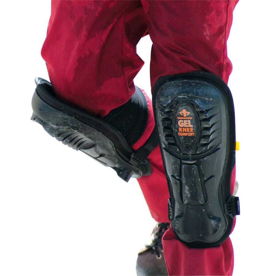 Impacto Non-Marring Rubber-Cap Knee Pads
