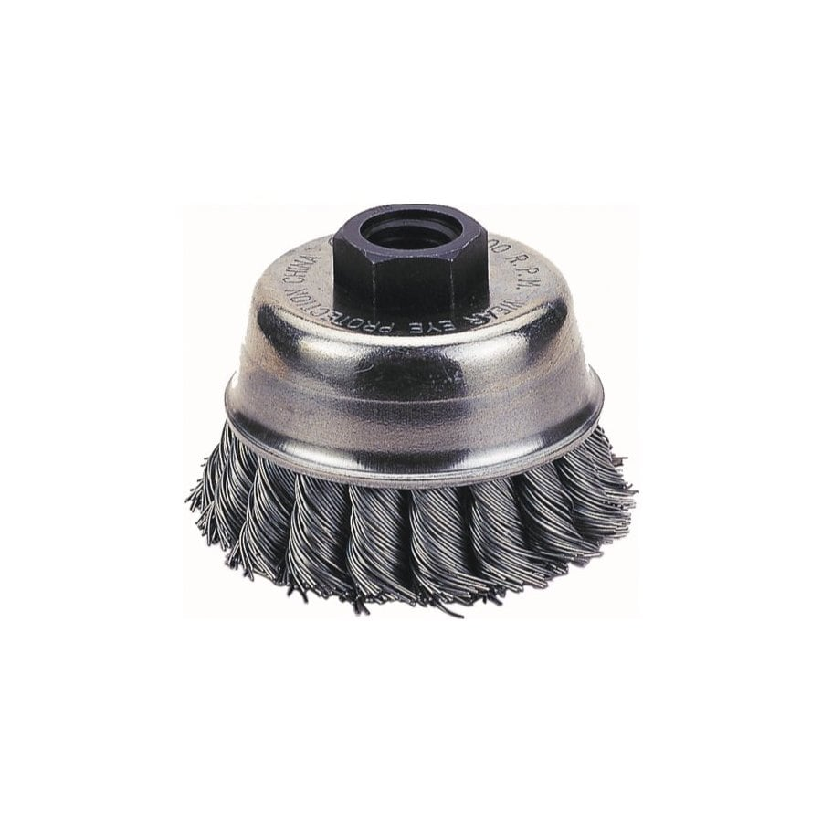 Firepower 4-in Dia Knotted Wire Cup Brush