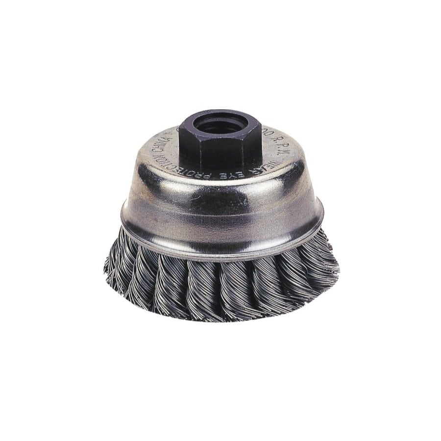 Firepower 6-in Dia Knotted Wire Cup Brush