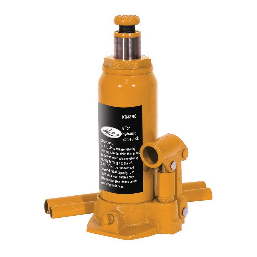 K Tool International 6-Ton Hydraulic Bottle Jack