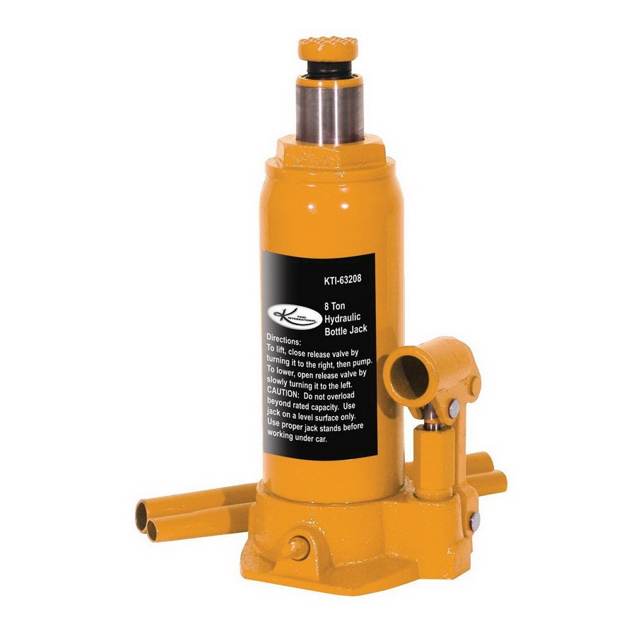K Tool International 8-Ton Hydraulic Bottle Jack