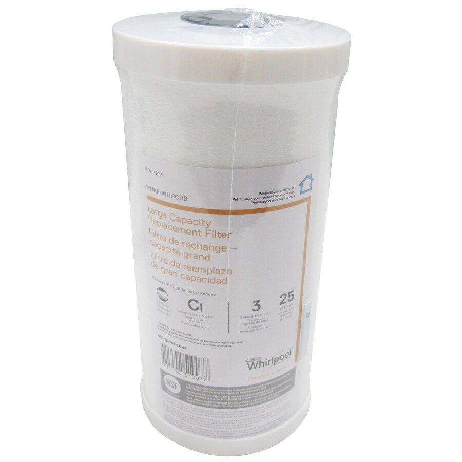 Whirlpool 1-in Whole House Replacement Filter