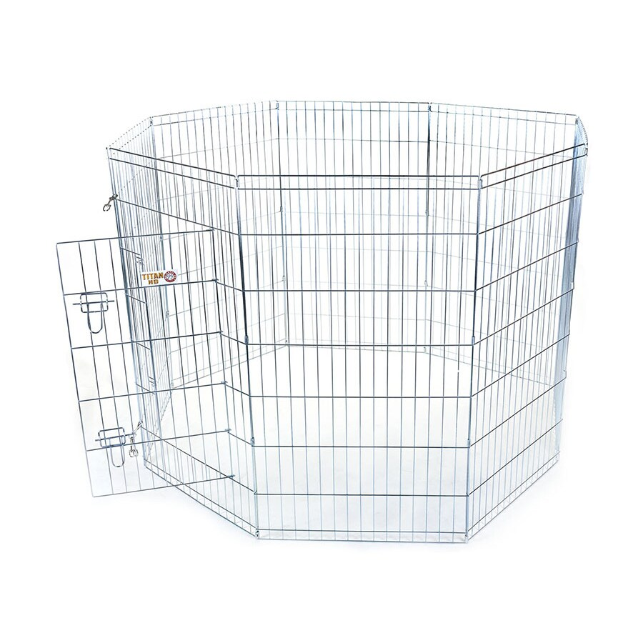 Majestic Pets 16-ft x 4-ft Outdoor Dog Kennel