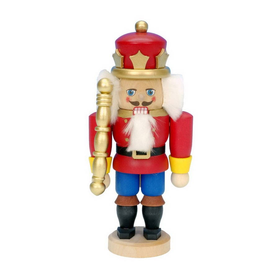 Alexander Taron Wood King Nutcracker Ornament