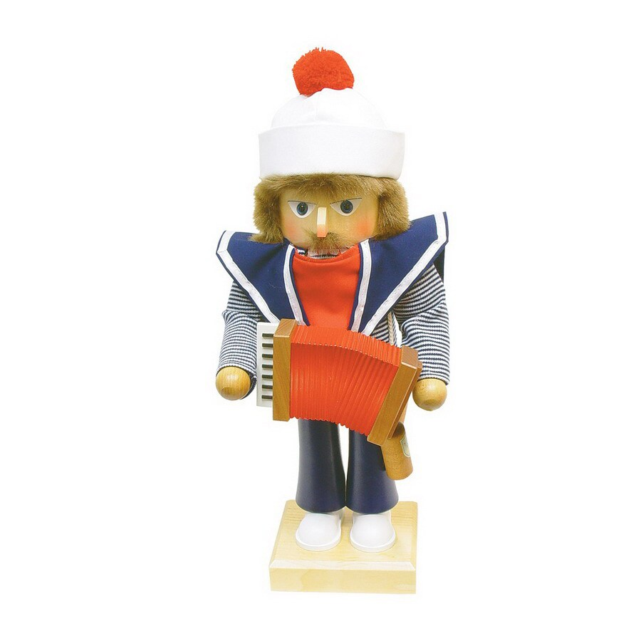 Alexander Taron Wood Sailor Nutcracker Ornament