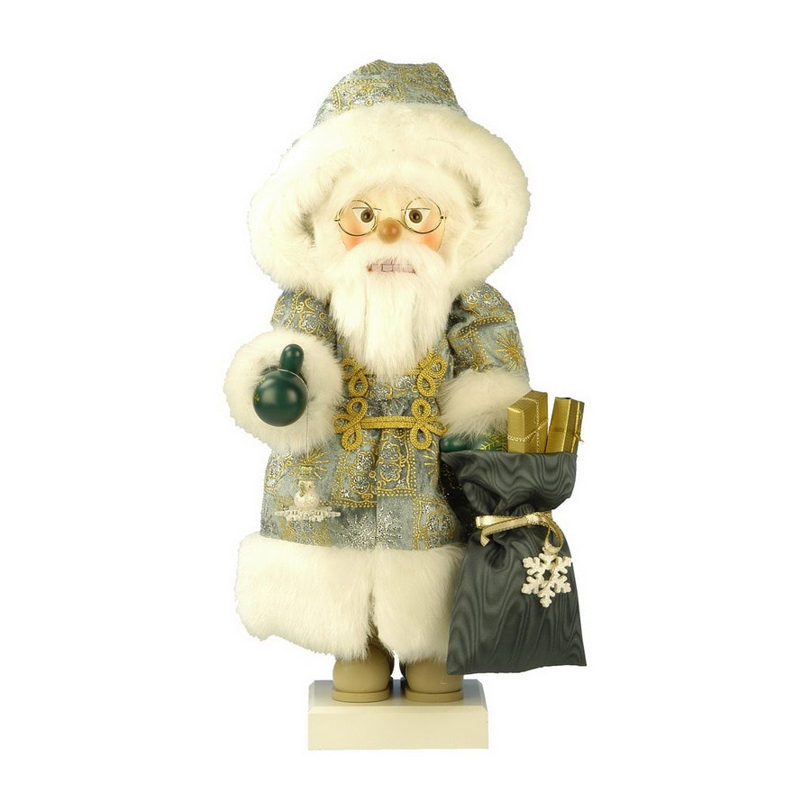 Alexander Taron Wood Noble Santa Nutcracker Ornament