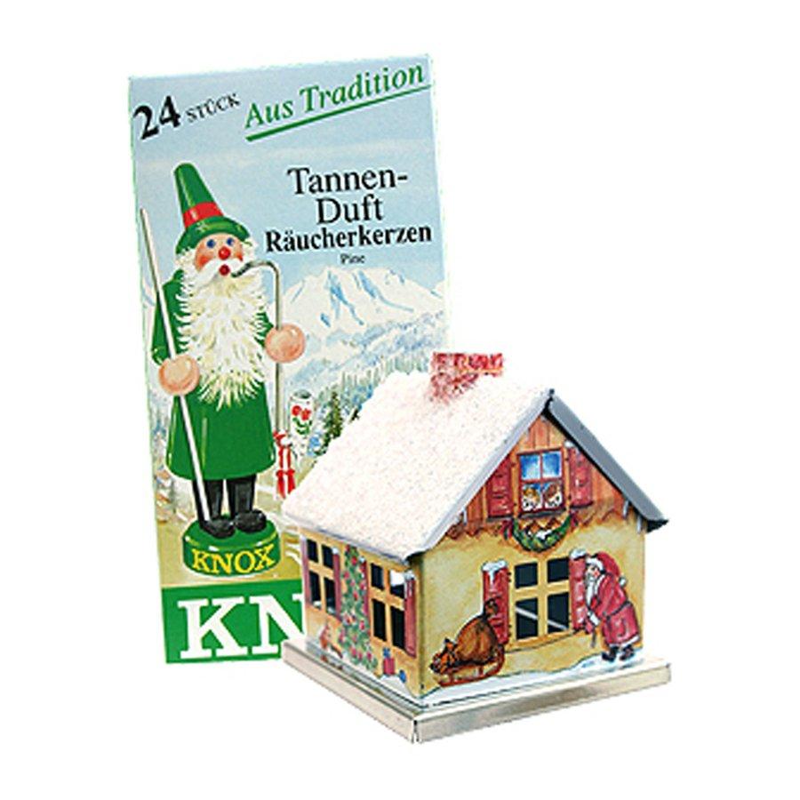 Alexander Taron Christmas House Metal Tabletop Incense Burner