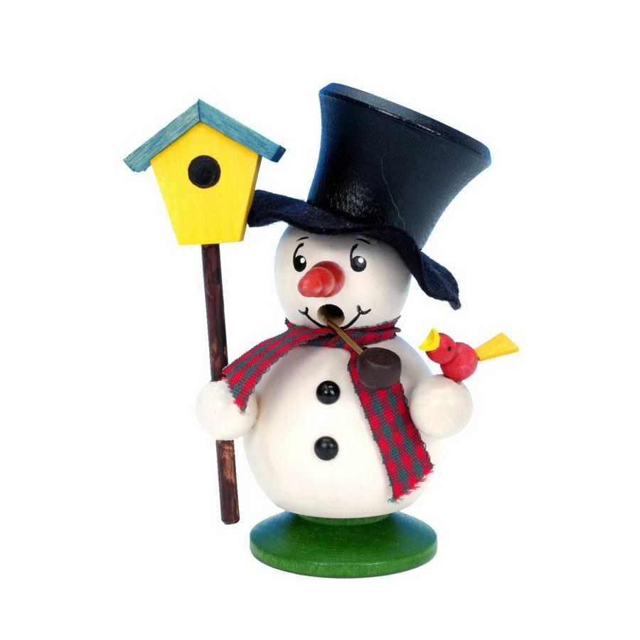 Alexander Taron 1-Piece Christian Ulbricht Tabletop Snowman Incense Burner Indoor Christmas Decoration
