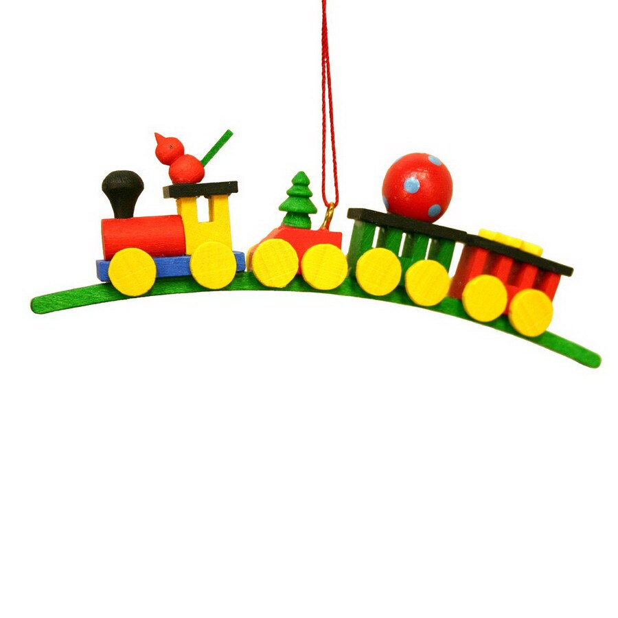 Alexander Taron Plastic Toy Train Ornament