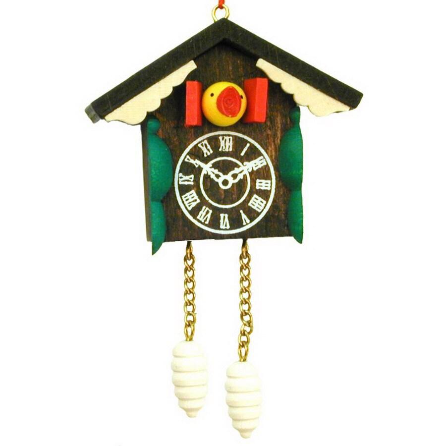 Alexander Taron Wood Cuckoo Clock Ornament