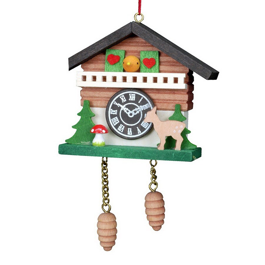 Alexander Taron Wood Cuckoo Clock House Ornament