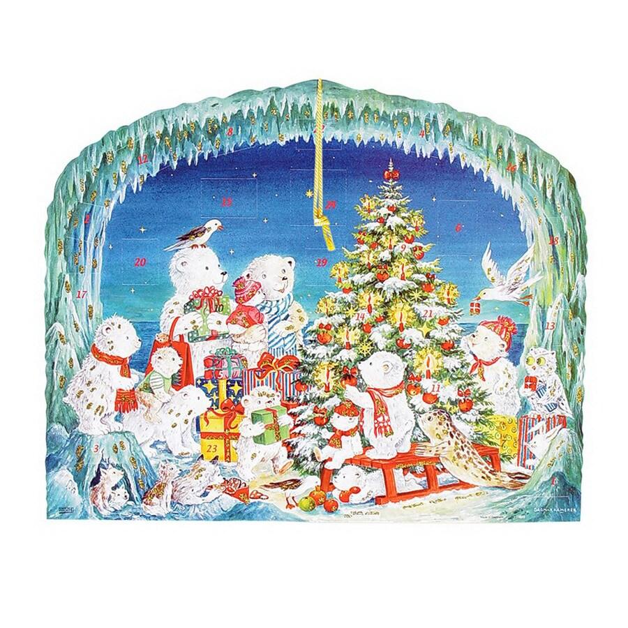 Alexander Taron Metal Large Advent Calendar Ornament