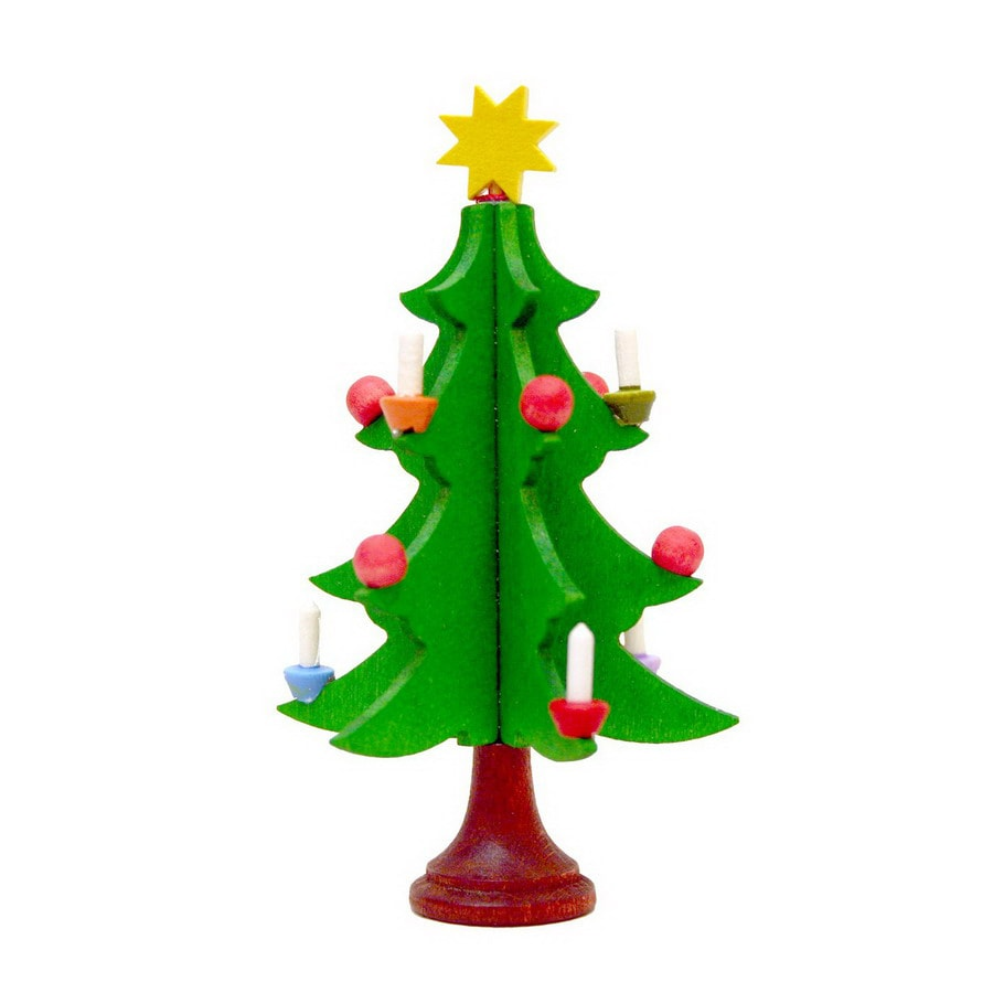 Alexander Taron Wood Tree Ornament