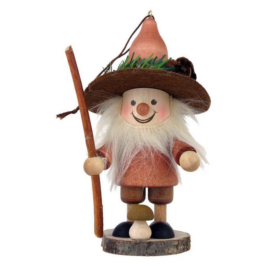 Alexander Taron Wood Mushroom Man Ornament