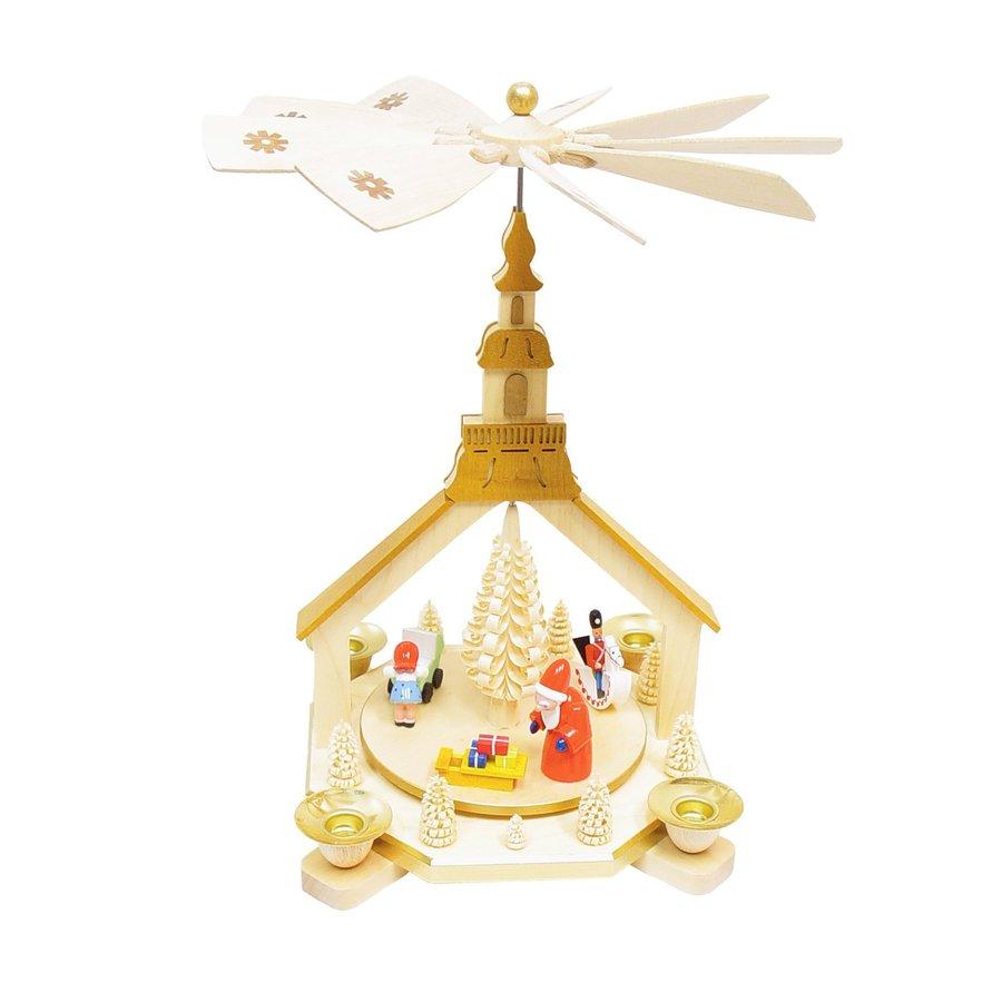 Alexander Taron Candle Holder Santa Indoor Christmas Decoration