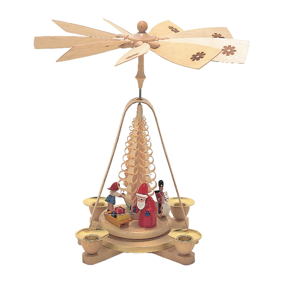 Alexander Taron Candle Holder Santa Indoor Christmas Decoration