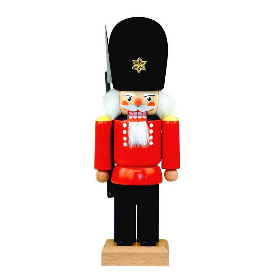 Alexander Taron Wood British Guard Nutcracker Ornament
