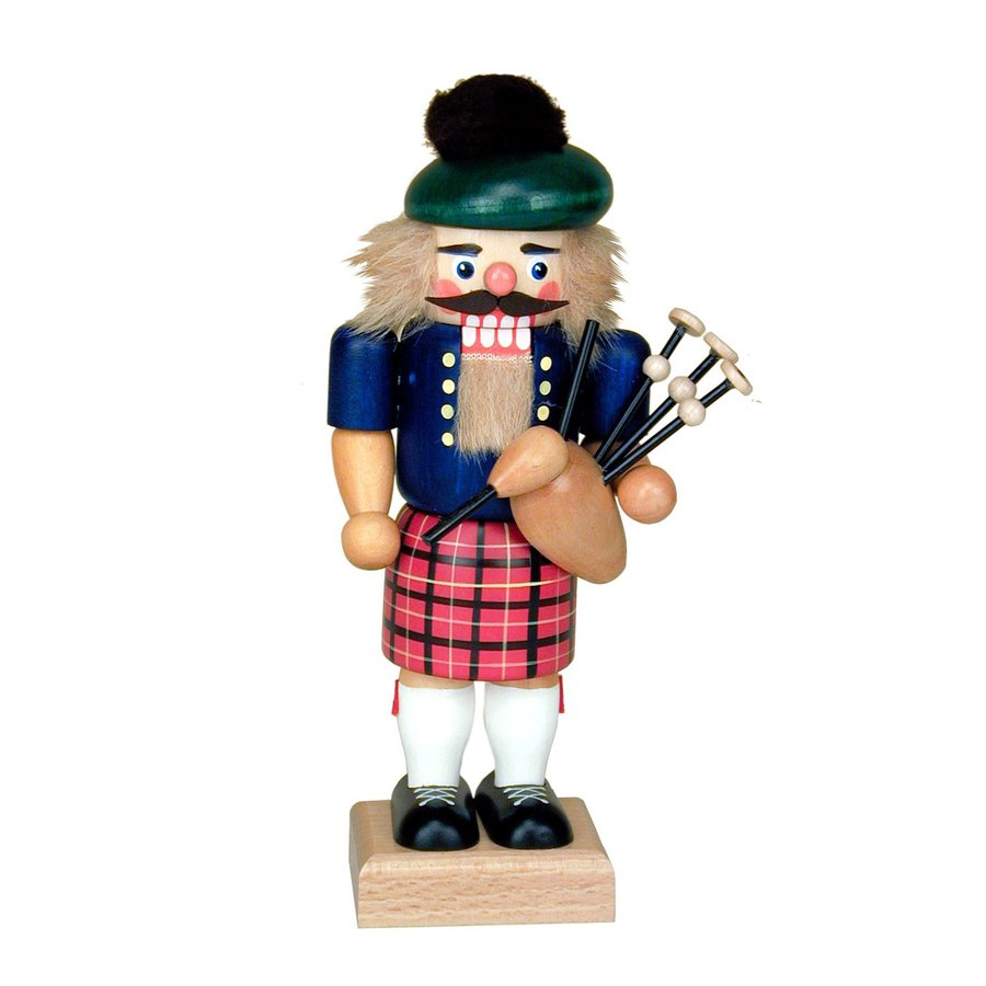 Alexander Taron Scotsman Nutcracker Wood Freestanding Figurine