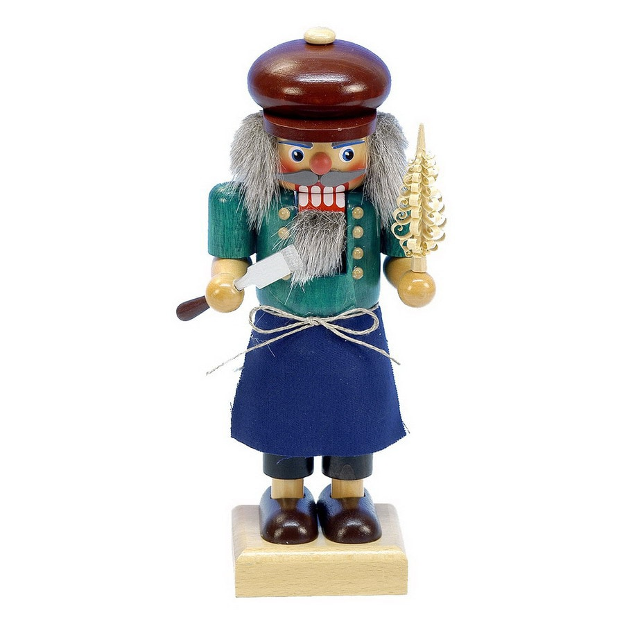 Alexander Taron Wood Wood Carver Nutcracker Ornament