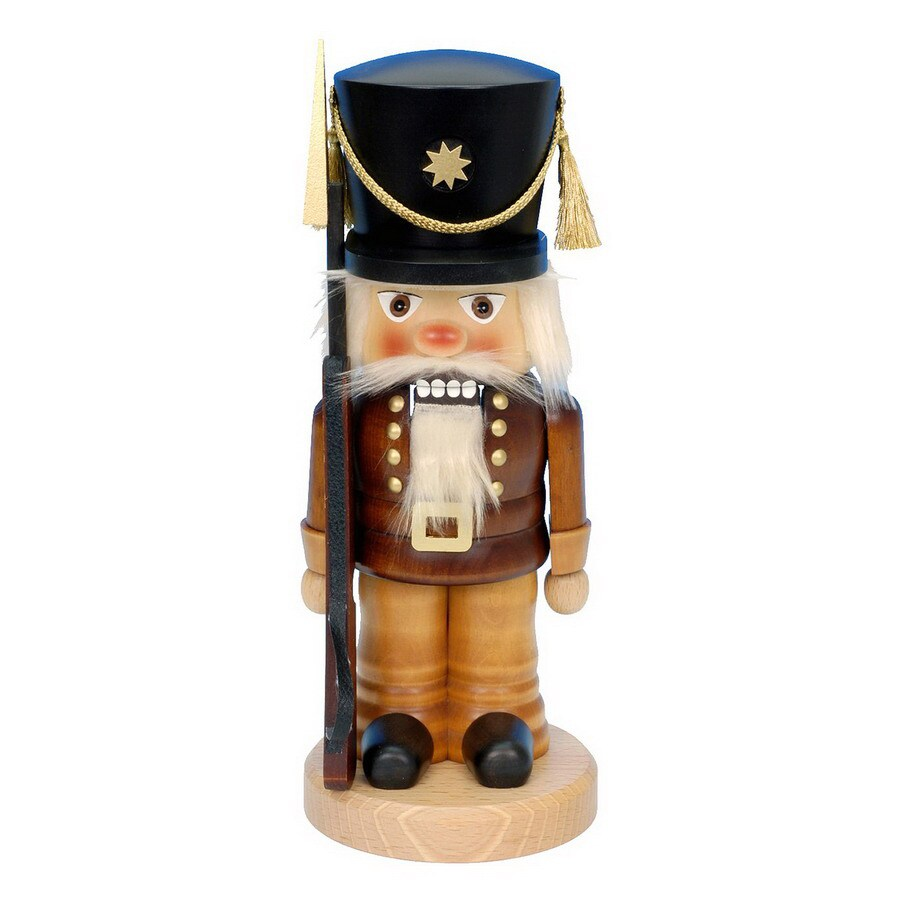 Alexander Taron Wood Guard Natural Nutcracker Ornament