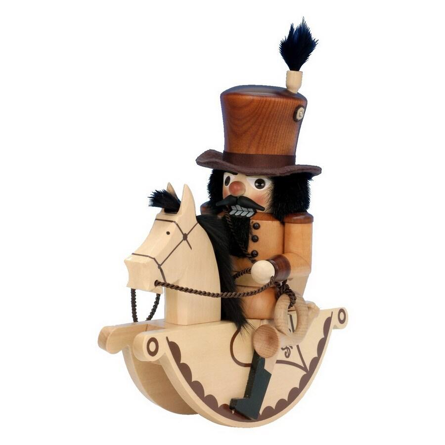 Alexander Taron Wood Postilion Horse Nutcracker Ornament