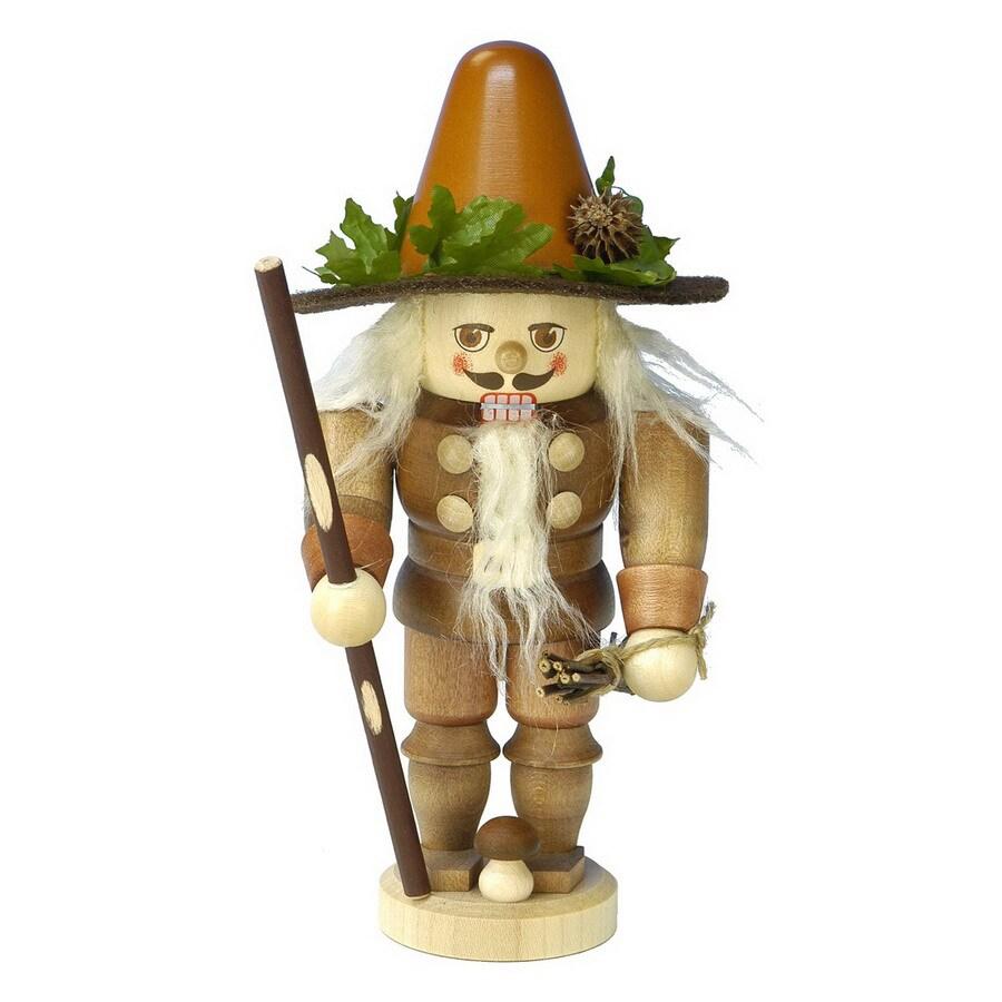 Alexander Taron Wood Woodsman Nutcracker Ornament
