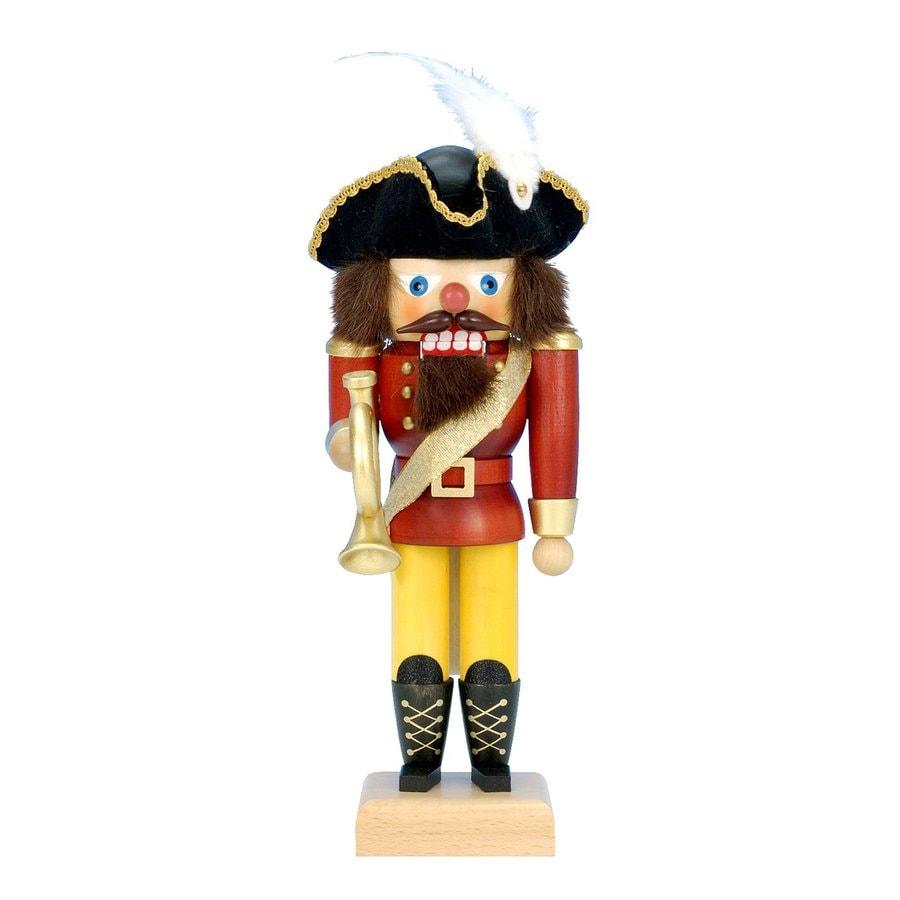 Alexander Taron Carriage Driver Nutcracker Wood Freestanding Figurine