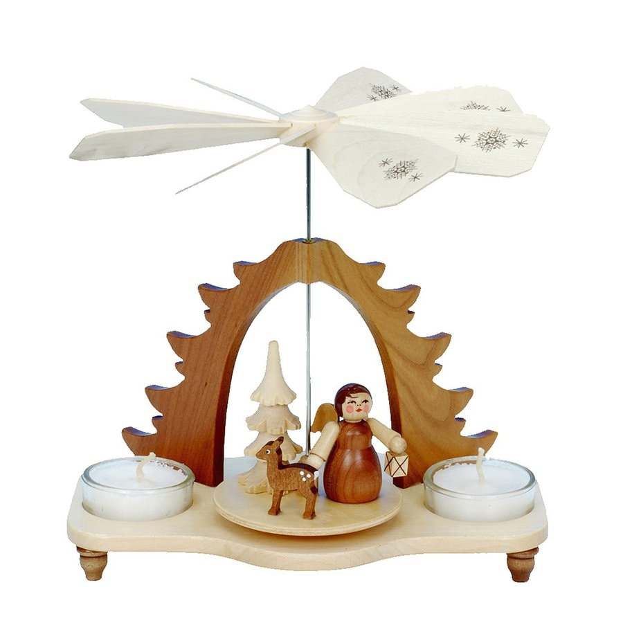 Alexander Taron Candle Holder Angel Indoor Christmas Decoration
