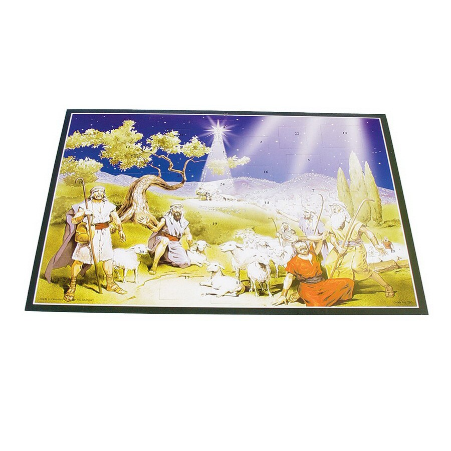 Alexander Taron Shepherds Large Text Advent Calendar Ornament