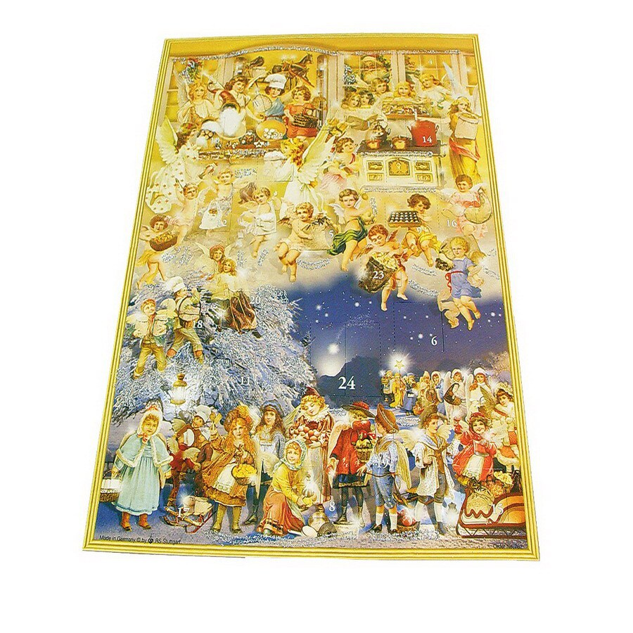 Alexander Taron Victorian Angels Large Advent Calendar Ornament