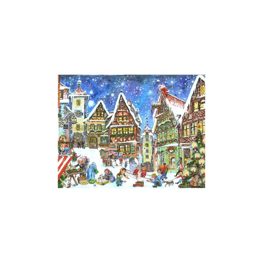 Alexander Taron Kris Kindle Market Advent Calendar Ornament