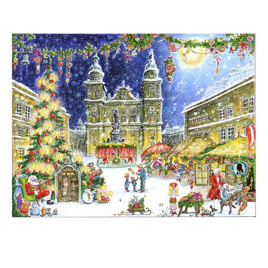 Alexander Taron Kris Kringle Marketplace Advent Calendar Ornament