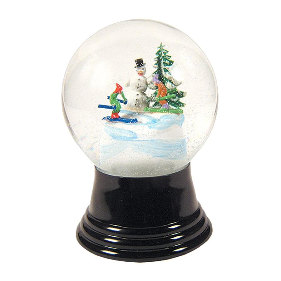 Alexander Taron Snow Globe Snowman Indoor Christmas Decoration