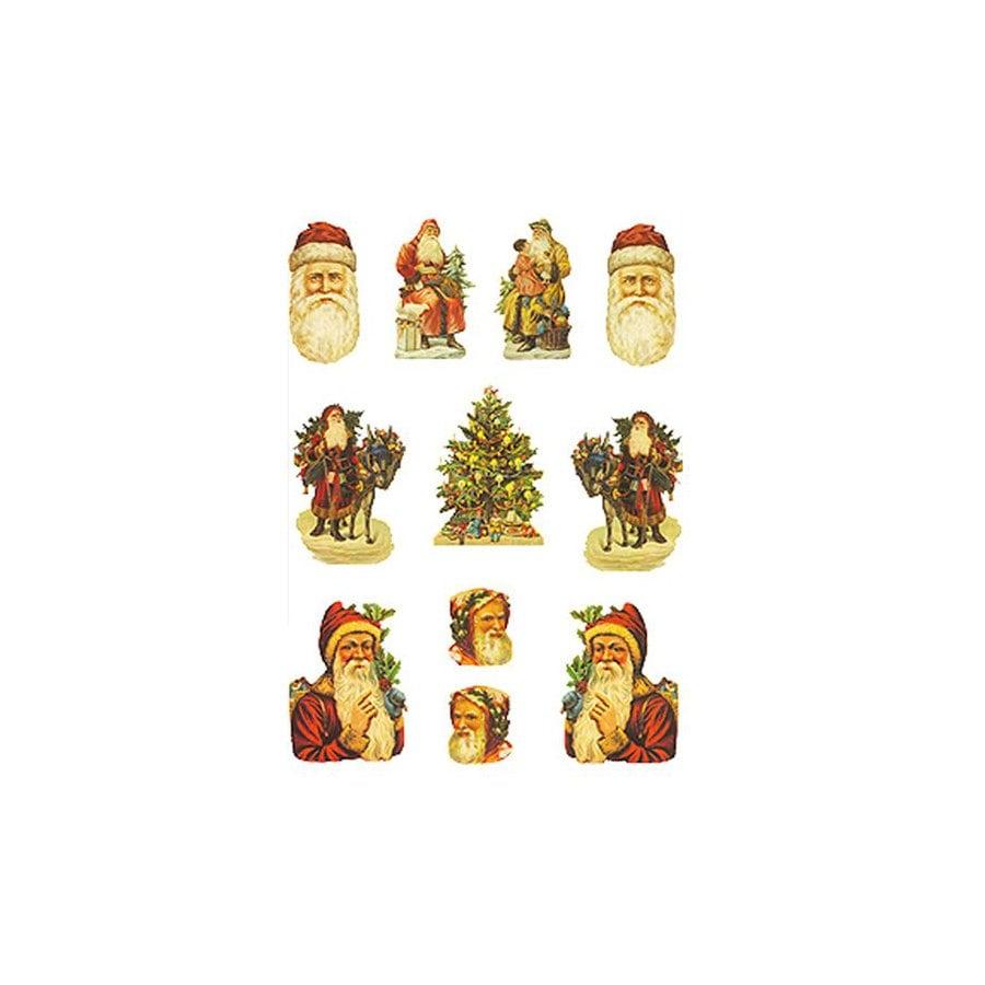 Alexander Taron 11-Pack Santa's Table Decor Ornaments