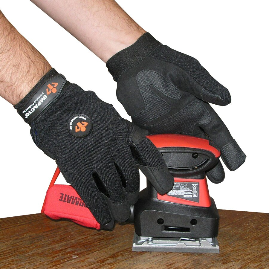 Impacto XX-Large Men's Synthetic Leather Palm Work Gloves