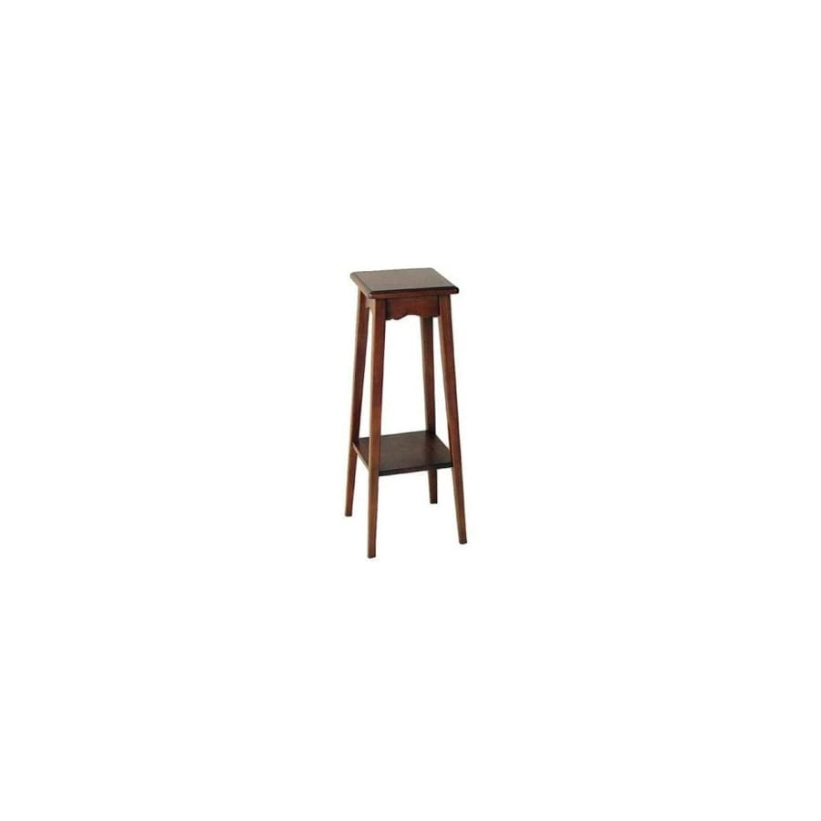 Wayborn Furniture 31.5-in Indoor Square Wood Plant Stand