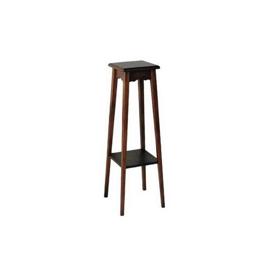 Shop wayborn furniture 39 in indoor square wood plant Plant stands for indoors