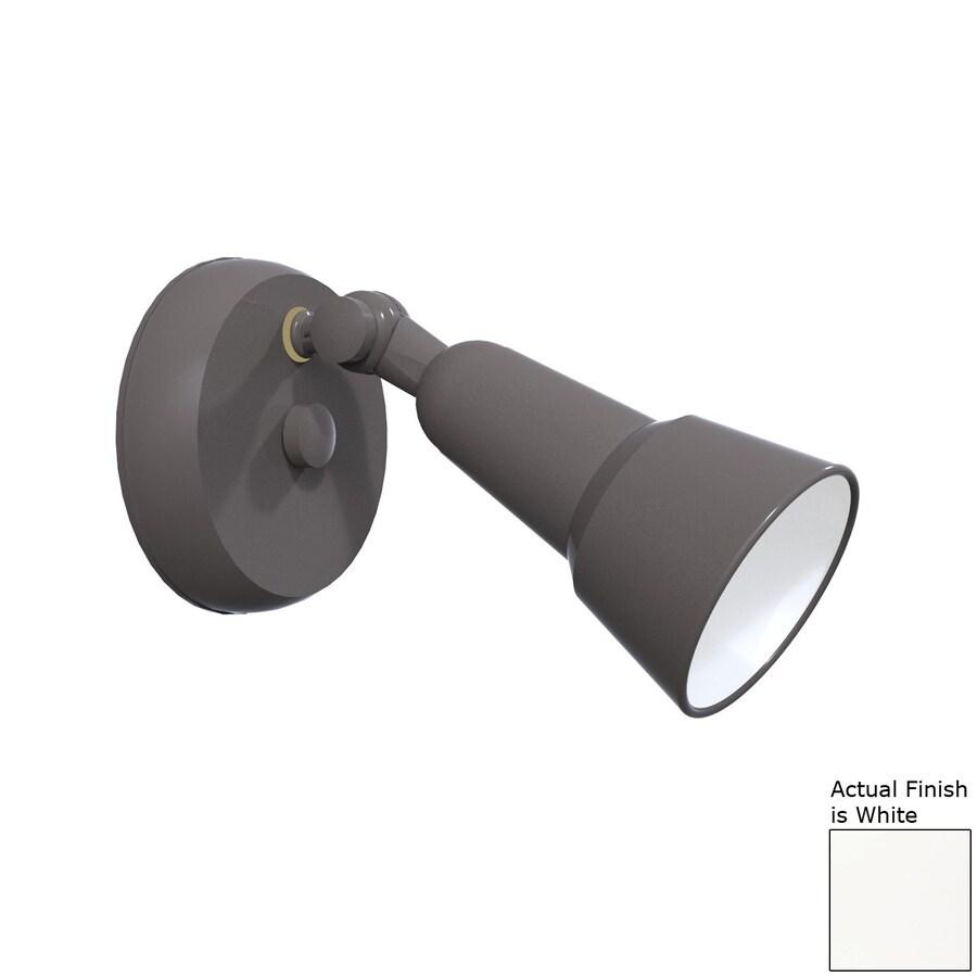 Remcraft Lighting Swedish Modern H White Outdoor Wall Light