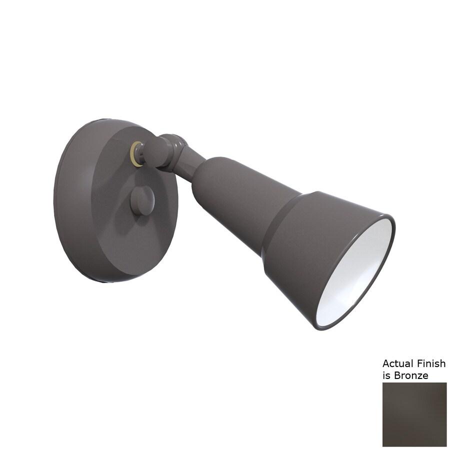 Remcraft Lighting Swedish Modern H Bronze Outdoor Wall Light
